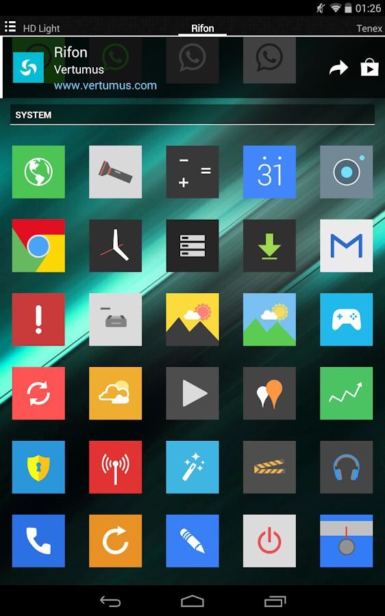 Rifon - Icon Pack Screenshot 11