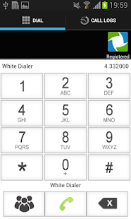 WhiteDialer - screenshot