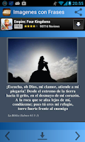 Screenshot of Imagenes con Frases Biblicas