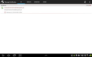Screenshot of my Secure Phone - safe android