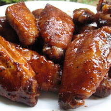 Asian Enough Grilled Chicken Wings