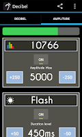 Screenshot of Decibel (Sound Meter)