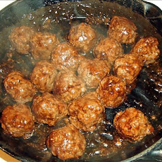 35 minute Teriyaki Meatballs