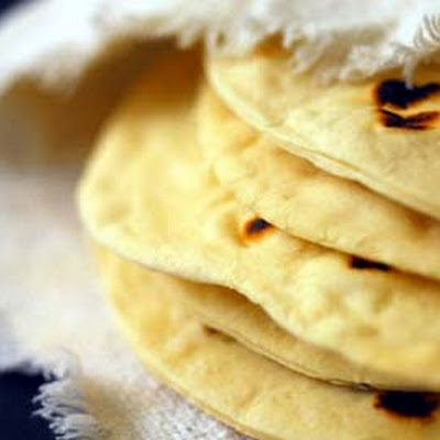 Texas Flour Tortillas (adapted from The Border Cookbook by Cheryl Alters Jamison and Bill Jamison)