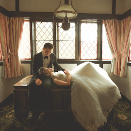 Love me tender by Mike Tan - Wedding Bride & Groom ( mike tan, pre-wedding, wedding, photographer, malaysia )
