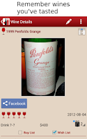 Screenshot of WS - Wine and Cellar