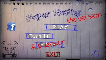 Screenshot of Paper Racing Cars Lite