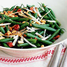 Green Bean, Olive And Pine Nut Salad