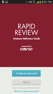 Rapid Review Anatomy Guide - screenshot