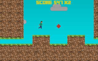Screenshot of RunCraft 2D