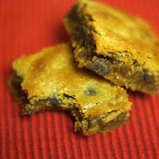 Flourless Peanut Butter Chocolate Chip Blondies