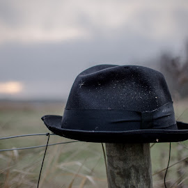 Lost by Bojan Bilas - Artistic Objects Clothing & Accessories ( prime lens, artistic, bokeh, hat,  )