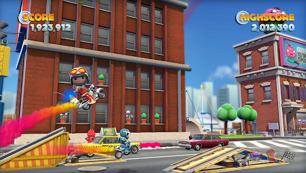 Media Molecule contributing 3 new characters to Joe Danger and Joe Danger 2 on the PS Vita