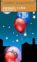 Screenshot of Angry Balloons