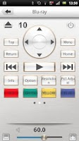 Screenshot of Marantz Remote App