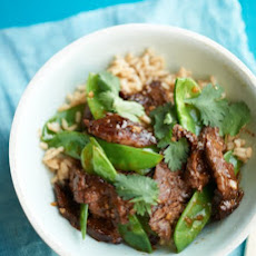 Beef and Snow Pea Stir-Fry