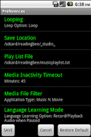 Screenshot of Adanced English