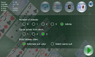 Screenshot of Klondike Forever