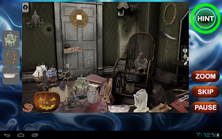 Screenshot of Haunted House Hidden Objects