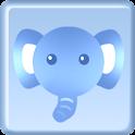쥬스킨 코끼리 카카오톡 테마 icon