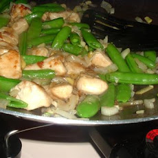 Snow Peas and Chicken