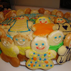 Kathy's Frosted Soft Sugar Cookies