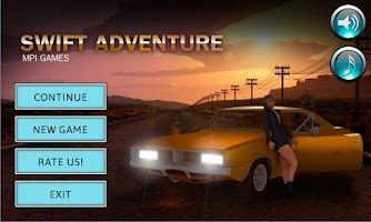 Screenshot of Swift Adventure