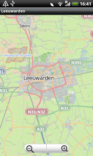 玩旅遊App|Leeuwarden Street Map免費|APP試玩