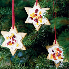 Lemon Star Biscuits