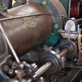 Pistons steel by Nicole Douglas - Novices Only Objects & Still Life ( old, engine, drive, power, steel, historic )