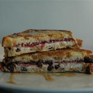 Plum French Toast Sandwiches