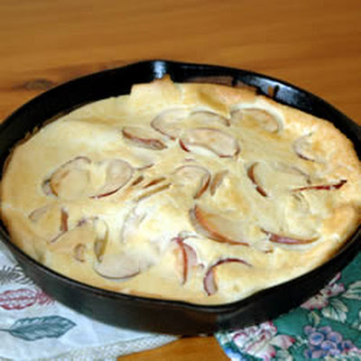 Oven Pancake with Apples