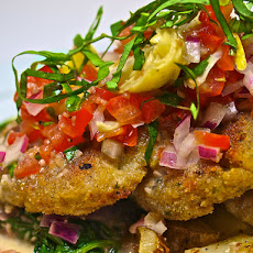 Dilled Potato Crab Cakes