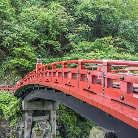Shoguns Bridge by Sue Matsunaga - Buildings & Architecture Bridges & Suspended Structures