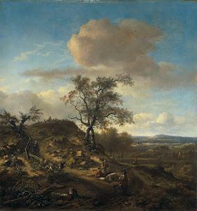 RIJKS: Jan Wijnants: painting 1670