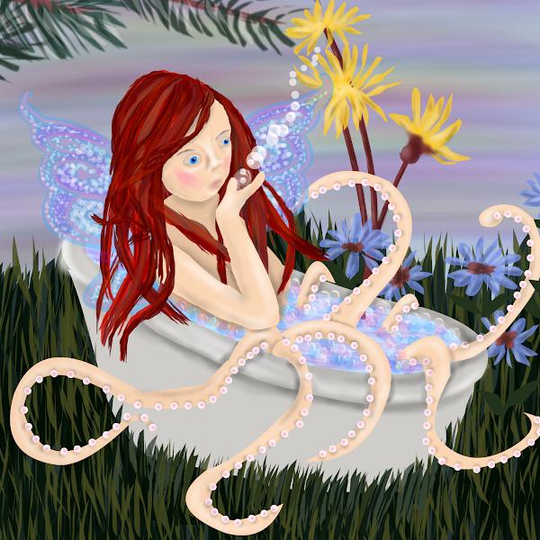 fairies with octopus legs 187 drawings 187 sketchport