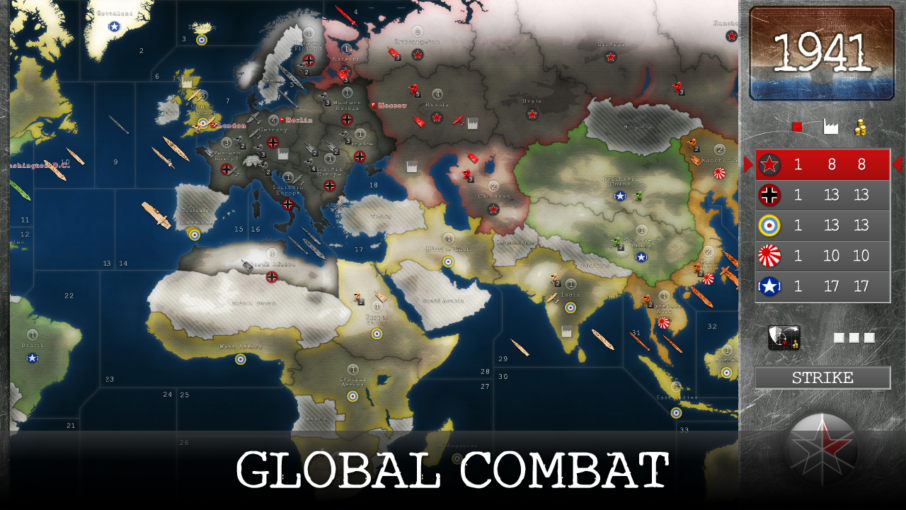 1941: World War Strategy Screenshot 6