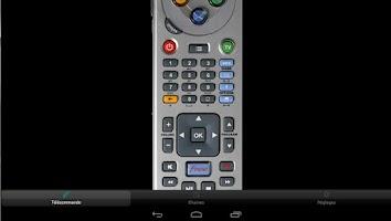 Screenshot of Freebox Telecommande
