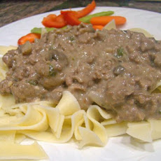 Easy Beef Stroganoff - Ground Beef Version