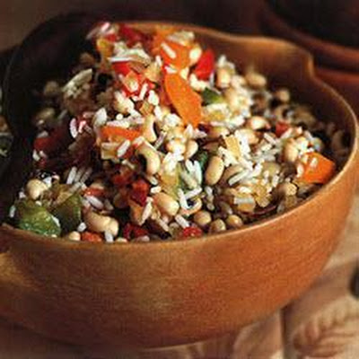 Hoppin' John With Sweet Peppers