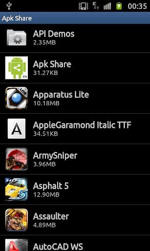 Apk Share Backup