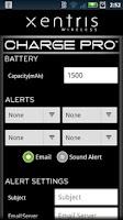 Screenshot of Charge Pro
