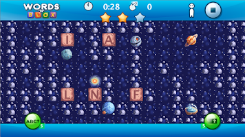 Screenshot of Words'N'Blox