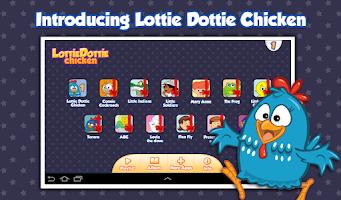 Screenshot of Lottie Dottie Chicken