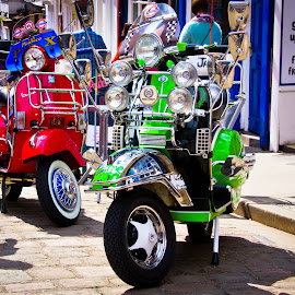 by Darrell Raw - Transportation Motorcycles