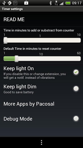 Timer for SmartWatch