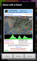 Screenshot of Variometer-Sky Land Tracker