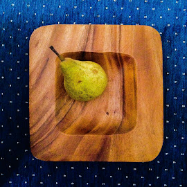Still life with pear by Charles KAVYS - Instagram & Mobile iPhone ( bowl, still life, pear, still life with pear,  )
