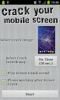 Screenshot of Crack your mobile screen
