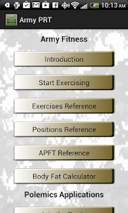 Army Fitness - screenshot